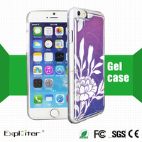 Make in china rohs resin pvc cell smart phone cover