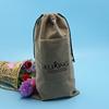 Cheap best selling velvet accessories bag