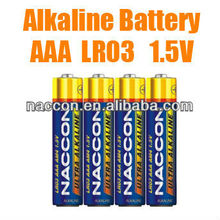 hot selling 1.5v am4 lr03 aaa alkaline battery for mp3 player..9