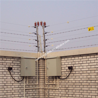 professional perimeter alarm electric fence for security system