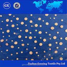 Printed organza/organdy Fabric with round dot design