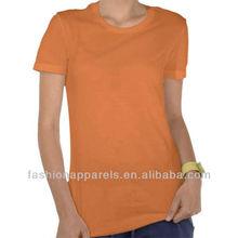 Custom high quality lycra cotton bella t-shirt