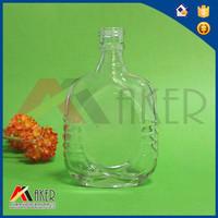 750ml heart shape Borosilicate Art Wine Glass Bottles