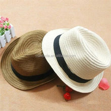 Alibaba china new coming children paper straw hat