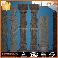 natural well polished beautiful decorative beautiful hand carved garden urn resin garden urn flower urn
