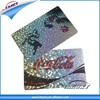 plastic hologram business printing cards