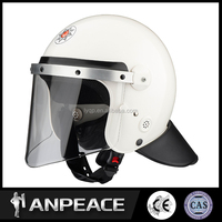 High quality full face ABS anti riot helmet with pane for military use FBK-V01