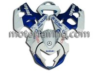 Fairing kit for motorcycle suzuki GSXR600-750 04-05 K4 racing fairing/fairing kits/motorcycle body kits blue/white