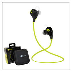 In-Ear Noise Cancelling Cheap Wireless Headphone with Built-in Bluetooth Mic