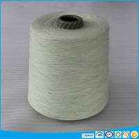 carton packing top dyed space dyed effect 100 cotton melange yarn