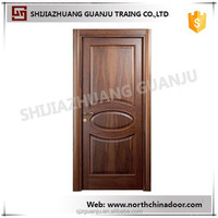 2015 New Design PVC MDF Commerical Wooden Interior Kitchen Flat Swing Door Modern Simple Design Wooden Door