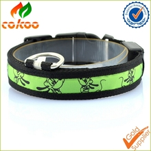 2016 new products High Quality color Flashing Led Dog Collar