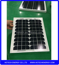 high efficiency 12V 10W monocrystalline solar panel price pakistan