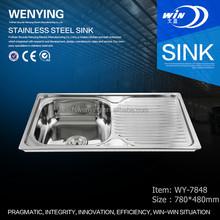 Wy-7848 sanitario anti- corrosione qualità in acciaio inox lavello chirurgico in medio oriente