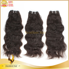 best quality 16 inch body wave grey virgin peruvian remy human weaving hair