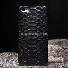 100% Genuine Python Snakeskin Leather Cell Phone Case for Iphone 6