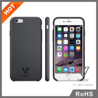 "4.7""pc and tpu bumper & back plate cell phone case for iphone 6"