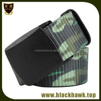 Hotsale high quality nylon military belt with velcro