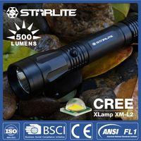 STARLITE High quality IPX7 500LM 300 meter flashlight