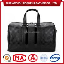 high end handbag manufacturer,genuine leather luggage bag travel bag
