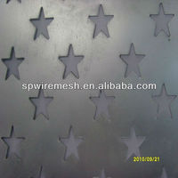 China factories for sale staggered perforated sheet for five -star shape