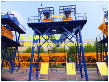 ISO/BV Approved Hongda hot sale HZS60 60m3/h simple concrete batching plant for sale