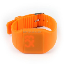 2015 Hot Selling Factory Direct Sell Silicone USB LED Silicone Watch