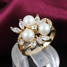 Fashion Trending Hot Gold Jewelleries Ring