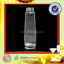 wholesale square clear 700ml vodka infusion bottles