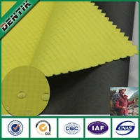 China supplier 3 layers ripstop nylon lightweight waterproof washable ptfe roof covering outdoor garment fabric