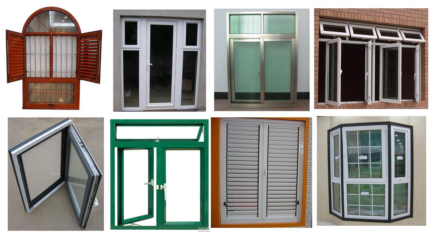 Ventana de aluminio ventanas identificaci n del producto for Modelos de puertas y ventanas de aluminio