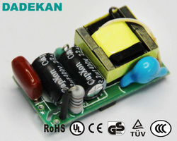 constant current 600mA 1W 3W 5W GU10 LED Driver for LED spotlight from Shenzhen Factory