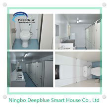 Australian standard shower toilet units