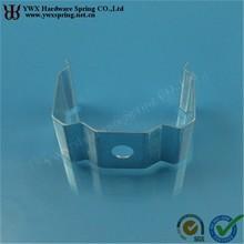 custom manufacture steel galvanized spring steel clips fasteners