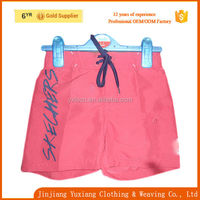 2015 brand name material fabric beach wears/boardshort