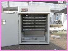 CE approved high hatching rate ZH-880 automatic computer controlled holding 880 chicken eggs industrial incubator
