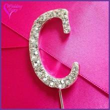 Wedding Supply!! Fashion Crystal felt topper