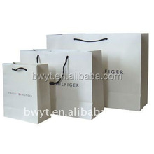 2015 shopping bag in different sizes, kraft paper bags, foldable shopping bag