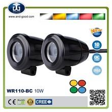 High Quality 10W Creeled mini 2inch pure aluminum housing IP68 waterproof head light for honda wave 100