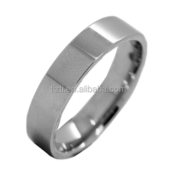 China factory direct sale 6MM Shiny polished mens tungsten ring