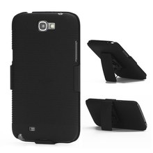 Case with Belt Clip Stand for Samsung Galaxy Note 2 / II N7100