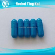 2015 hot sale empty gelatin blue size 00 capsule