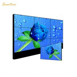excellent quality mall advertising lcd video wall display black bezel video wall