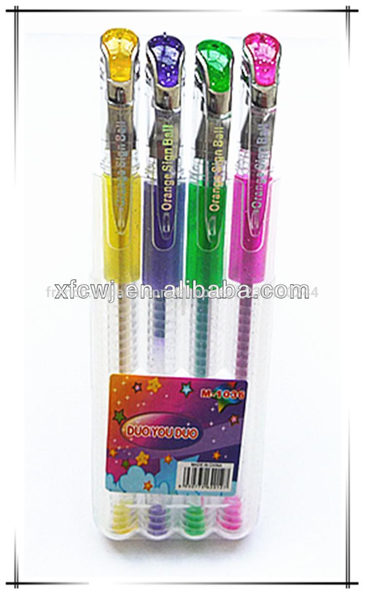 Papeterie de bureau parfum e stylos gel paillettes for Papeterie de bureau