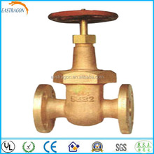 JIS F7367 Marine Brass Rising Stem Type Gate Valves 5K DN15-DN40