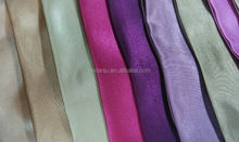 Hot!! 100% Polyester Satin Fabric At Non-twist Quality