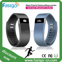 IOS android phone compatiable pedometer watch, bracelet watch pedometer smart wristband
