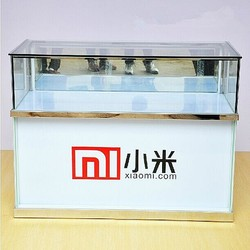 Good Quality Mobile Phone Display Cabinet With Led Light Strip