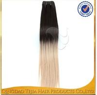 Alibaba wholesale 100% future kanekalon colored two tone hair weave