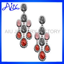 Top quality promotional multicolor drop earrings